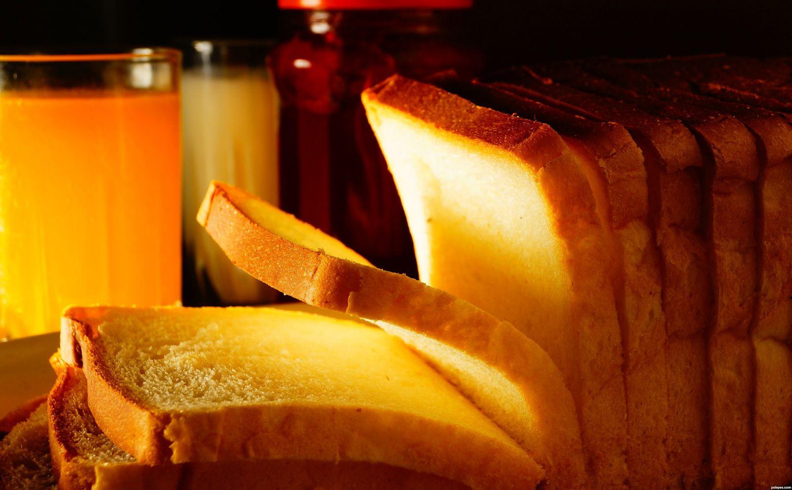 Хлеб Тостовый с паприкой и Чесноком