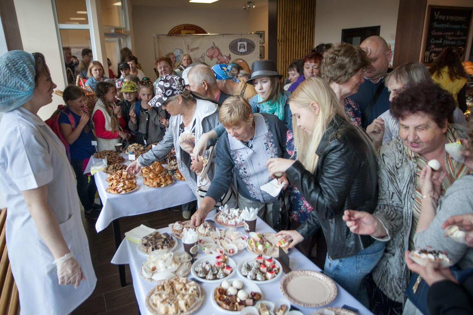 Сценарий открытия пекарни