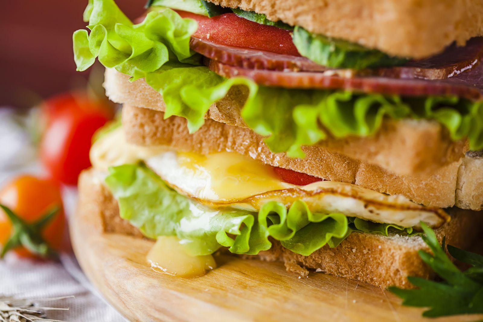 Бутерброды с Тостовым хлебом