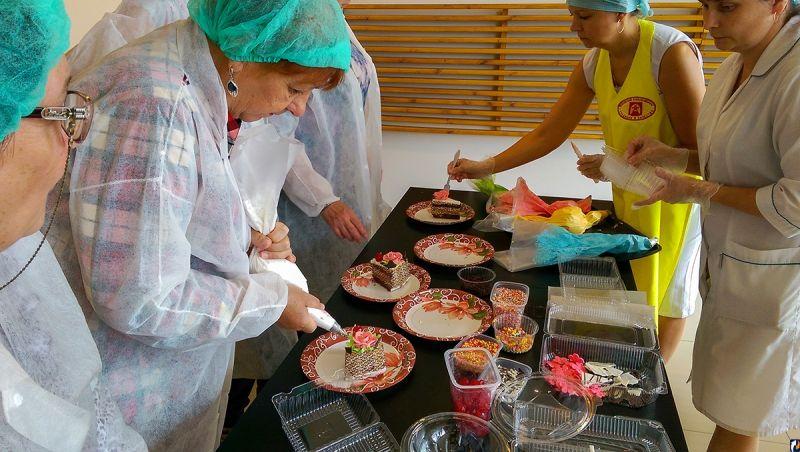Мастер-класс на День Торта в Булочной-кондитерской